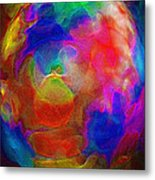 Abstract - The Egg Metal Print by Steve Ohlsen