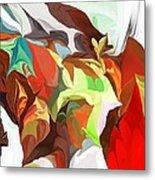 Abstract 090112 Metal Print