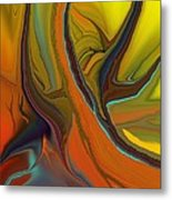 Abstract 110311 Metal Print