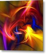 abstract 112811A Metal Print