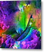 Abstract 255 Metal Print