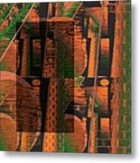 Abstract 702 Metal Print