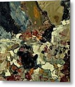 Abstract 7721901 Metal Print