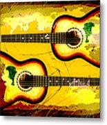 Abstract Acoustic Metal Print