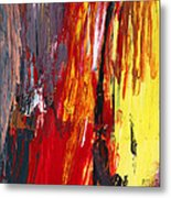 Abstract - Acrylic - Rising Power Metal Print by Mike Savad