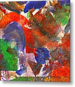 Abstract - Acrylic - Synthesis Metal Print