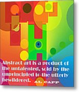 Abstract Art Metal Print