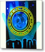Abstract Artwork Of Fortune Telling Metal Print by Victor Habbick Visions