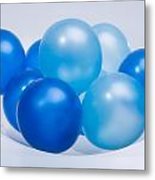 Abstract Balloon Metal Print