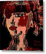 Abstract Beauty Metal Print
