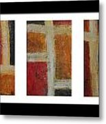 Abstract Collage 1 Metal Print