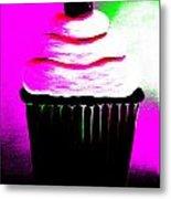 Abstract Cupcakes By Shawna Erback Metal Print
