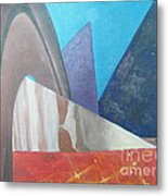 Abstract Metal Print by Delores Swanson