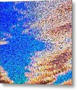 Abstract Dimensional Art Metal Print