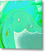 Abstract Down By The Sea  Metal Print