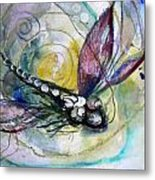 Abstract Dragonfly 11 Metal Print