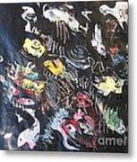Abstract Fish212 Metal Print