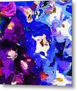 Abstract Floral 031112 Metal Print
