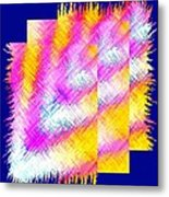 Abstract Fusion 127 Metal Print