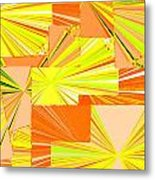 Abstract Fusion 14 Metal Print