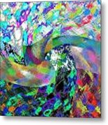 Abstract Fusion 15 Metal Print