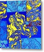 Abstract Fusion 22 Metal Print