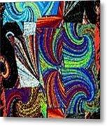 Abstract Fusion 37 Metal Print