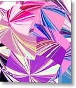 Abstract Fusion 41 Metal Print