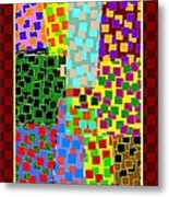 Abstract Fusion 43 Metal Print