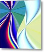 Abstract Fusion 50 Metal Print