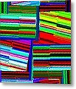 Abstract Fusion 77 Metal Print