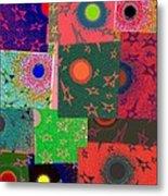 Abstract Fusion 79 Metal Print