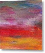 Abstract - Guash And Acrylic - Pleasant Dreams Metal Print