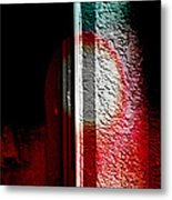 Abstract In The Rain Metal Print