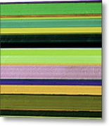 Abstract Landscape - The Highway Series Lll Metal Print