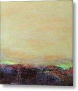 Abstract Landscape - Rose Hills Metal Print