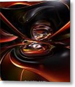 Abstract Lava Flow Fx  Metal Print