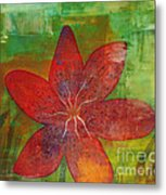 Abstract Lilly  Metal Print