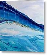 Abstract Marlin Metal Print