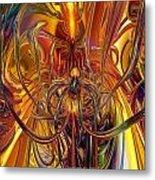 Abstract Medusa Fx   Metal Print