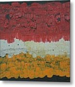 Abstract Number 6 Metal Print