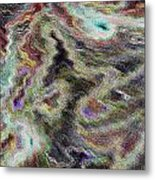 Abstract Pastel Art Metal Print