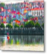 abstract Portuguese city Porto-6 Metal Print