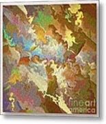 Abstract Puzzle Metal Print by Deborah Benoit