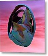 Abstract Sculpture 042412 Metal Print