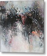 Abstract Seascape00100 Metal Print
