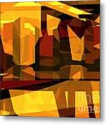 Abstract Sin 27 Metal Print