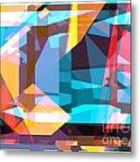 Abstract Sin 28 Metal Print
