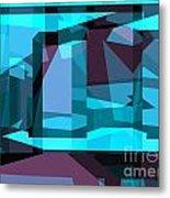 Abstract Sin 29 Metal Print
