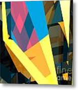 Abstract Sine L 16 Metal Print